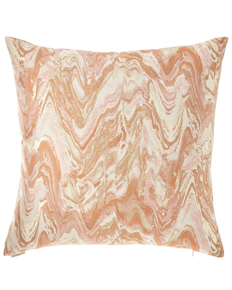 D.V. Kap Home Malta Marbleized Pillow
