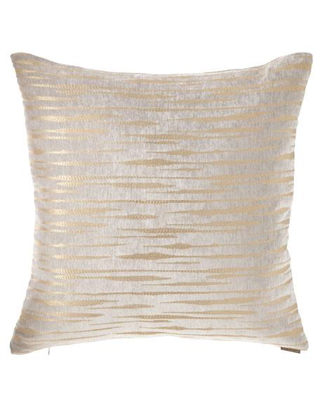 D.V. Kap Home Davos Fog Shimmer Pillow