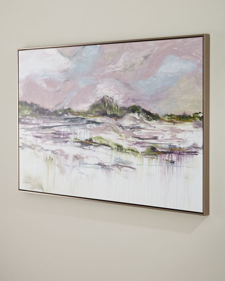 """""""Low Country Longing"""" Giclee Canvas Wall Art"""