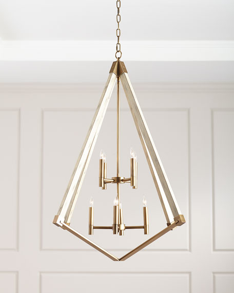 Cage 8-Light Chandelier