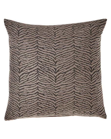 Nocturne Shadow Knife Edge Pillow