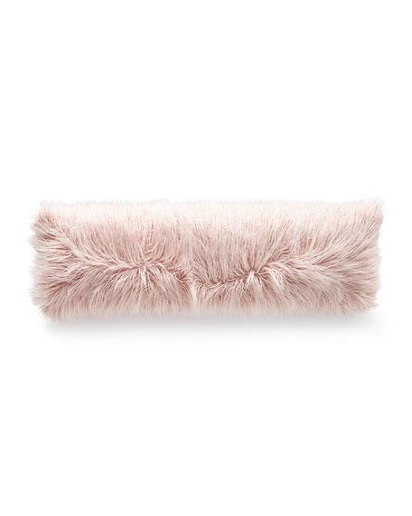 D.V. Kap Home Llama Faux-Fur Bolster Pillow