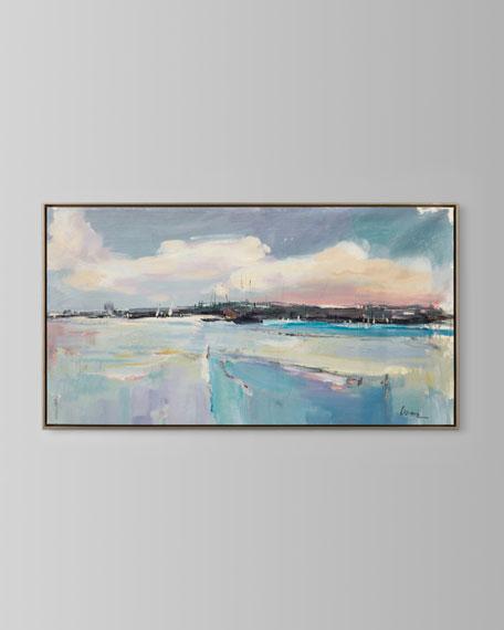 """Lavender Fields"" Wall Art by Liyone"