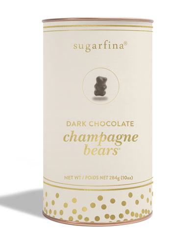 Dark Chocolate Champagne Bears