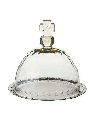 Basilica Platter & Glass Cover