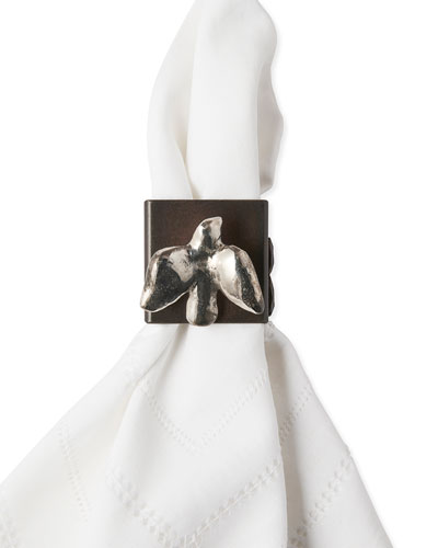 Golondrina Napkin Rings, Set of 4