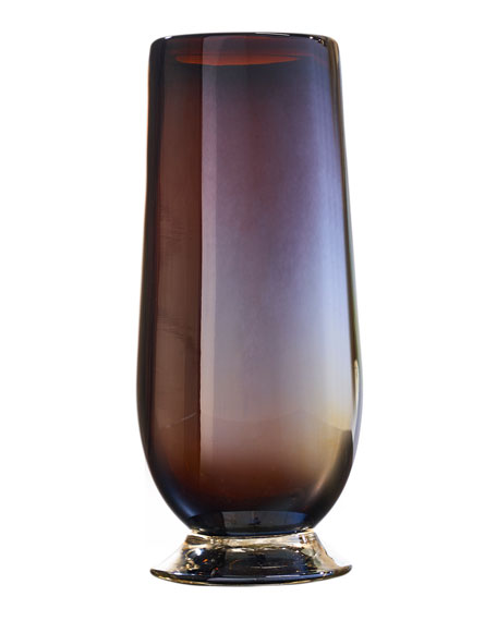 Jan Barboglio Tio Opalescent Drinking Glass - Chocolate