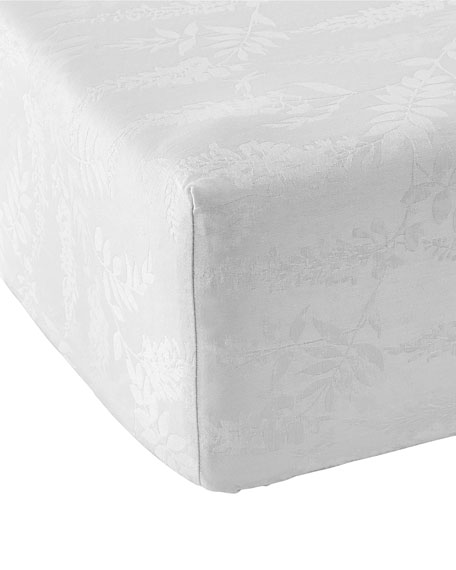 Anne de Solene Wisteria 300 Thread-Count King Fitted