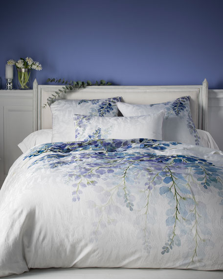 Anne de Solene Wisteria 300 Thread-Count Queen Duvet