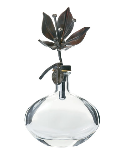 Passion Flower Decanter