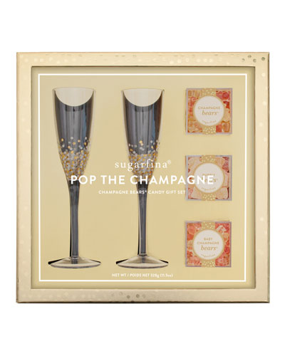 Pop The Champagne Gift Set