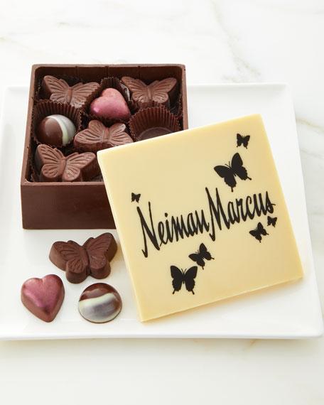 Charles Chocolates Neiman Marcus Edible Chocolate Box