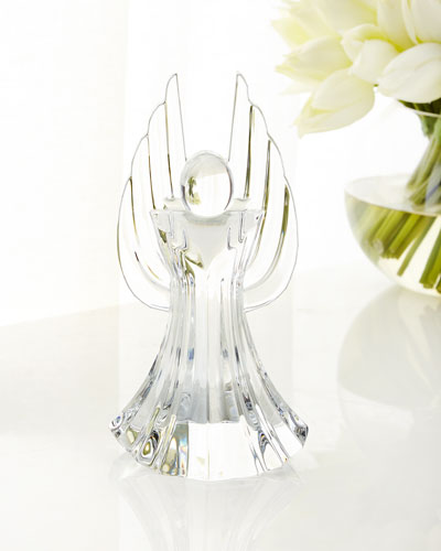 Angelus Crystal Angel Sculpture