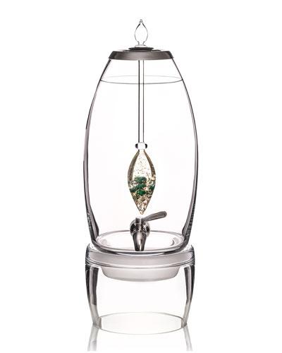 Grande Dispenser and Prosper Gem-Water Vial Set