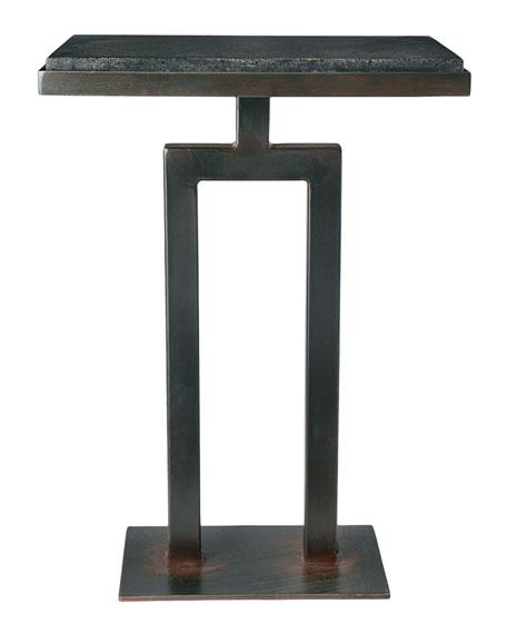 Rectangular Granite Side Table