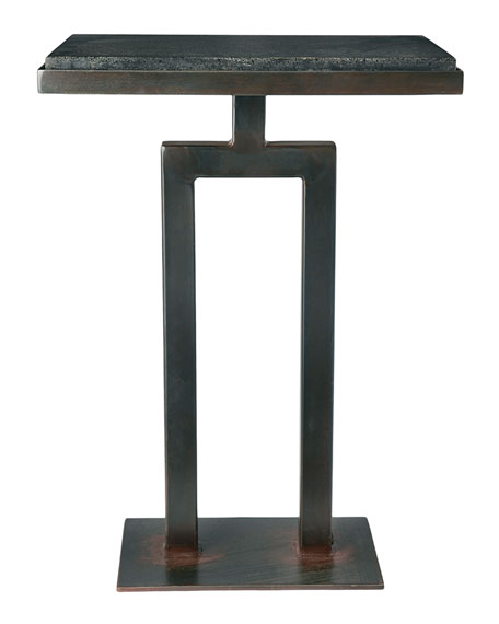 Jan Barboglio Rectangular Granite Side Table