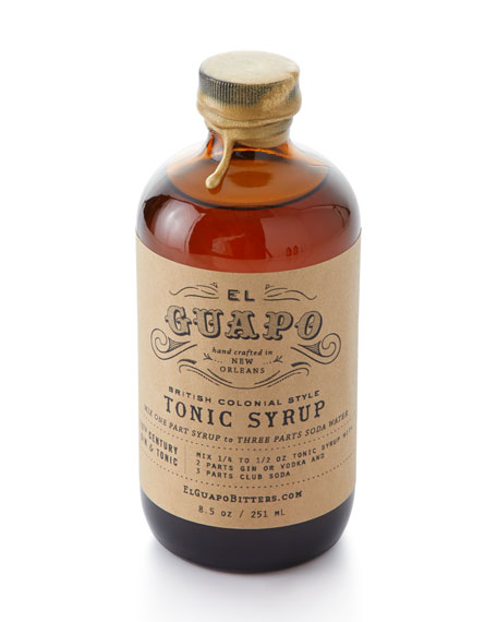 El Guapo British Colonial Style Tonic Syrup