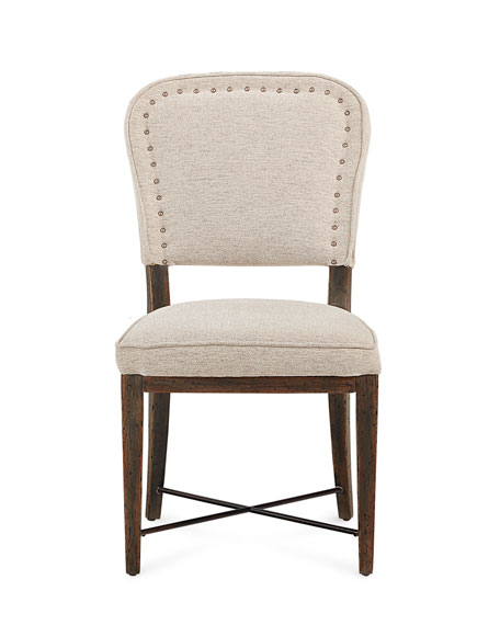 Pair of Mecate Upholstered Dining Side Chairs