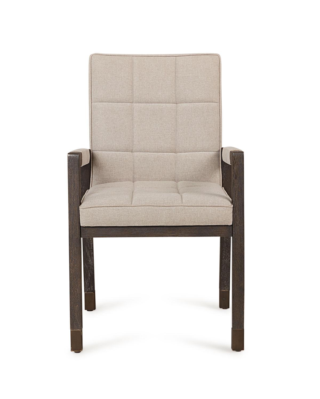 Hooker Furniturepair Of Brikelle Tufted Arm Chairs