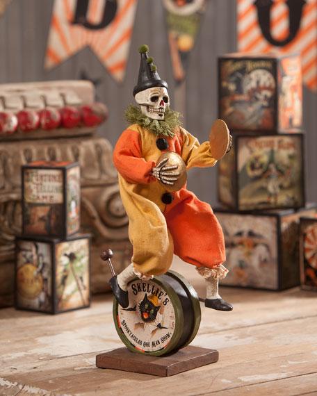 Skeleton One Man Band