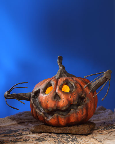 Into the Woods Pumpkin Halloween Decoration