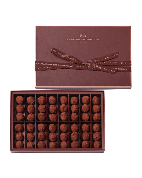 48-Piece Dark Chocolate Truffles Box