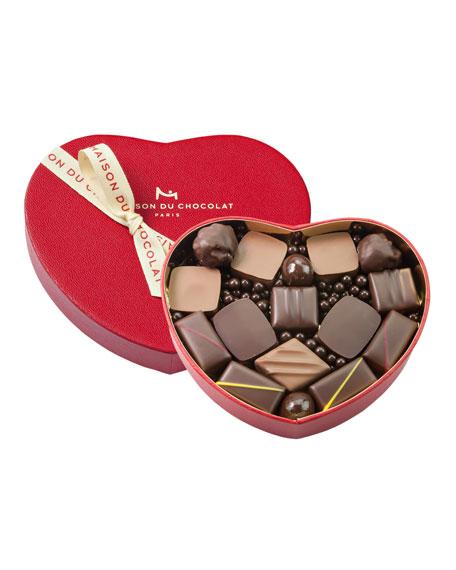 La Maison Du Chocolat 15-Piece Heart Gift Box
