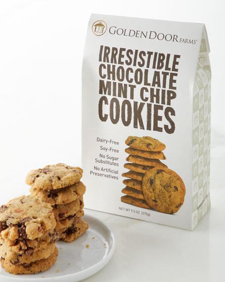 Golden Door Irresistible Chocolate Mint Chip Cookies