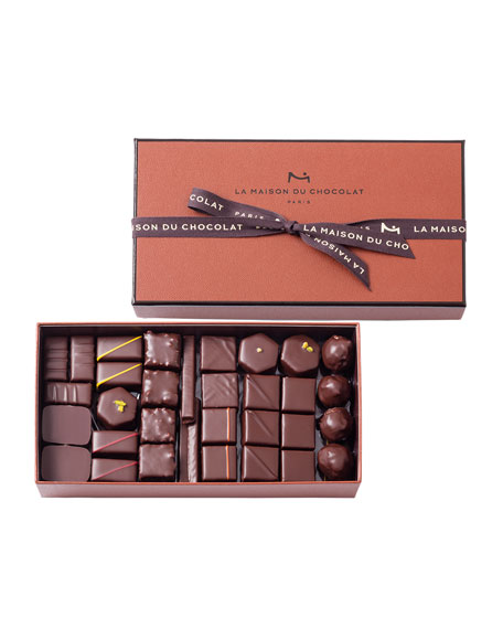 63-Piece Coffret Maison Dark Chocolate Box