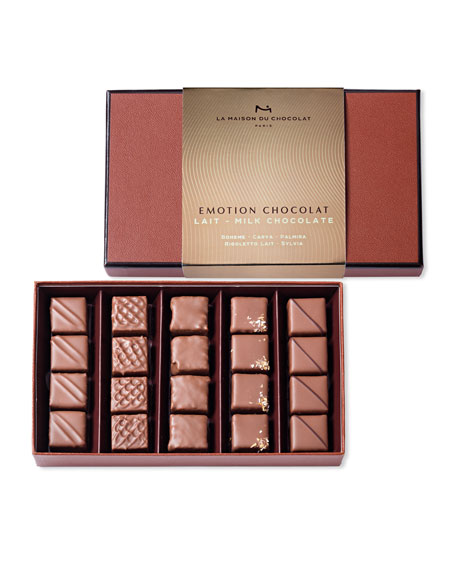 La Maison Du Chocolat Emotion Milk Chocolate Gift