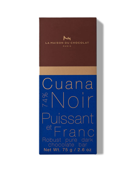 La Maison Du Chocolat Dark Chocolate Cuana Bar