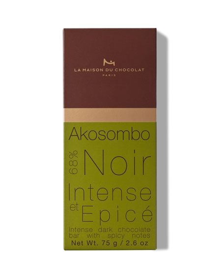 La Maison Du Chocolat Dark Chocolate Akosombo Bar