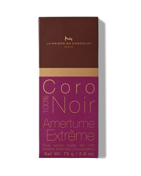 La Maison Du Chocolat Dark Chocolate Coro Bar