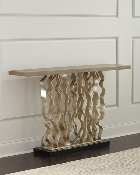 Ambella Waves Console Table