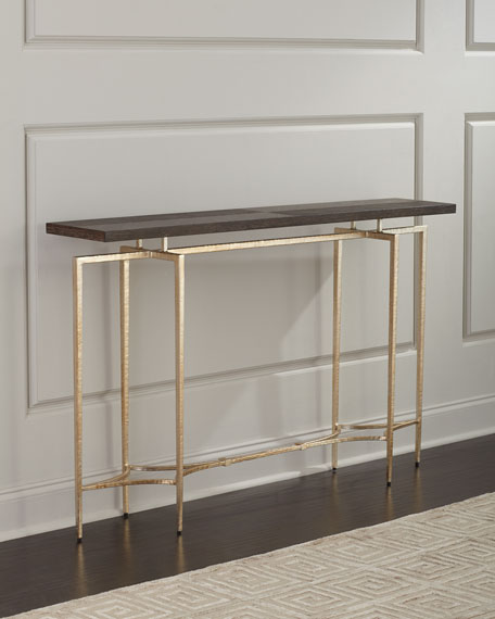 Ambella Double Diamond Console Table