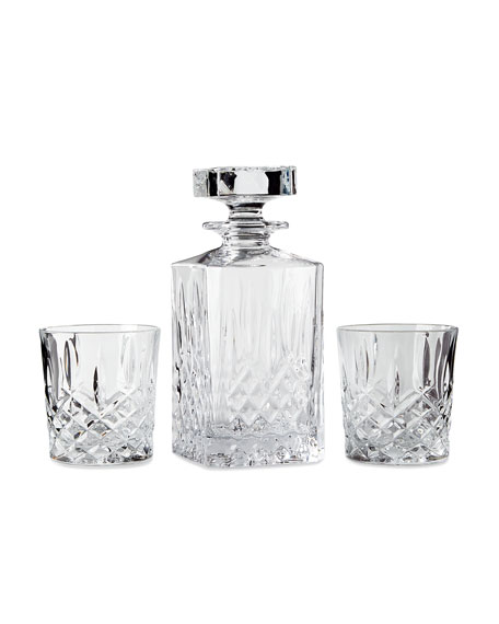 Marquis By Waterford Markham Square Decanter & Two
