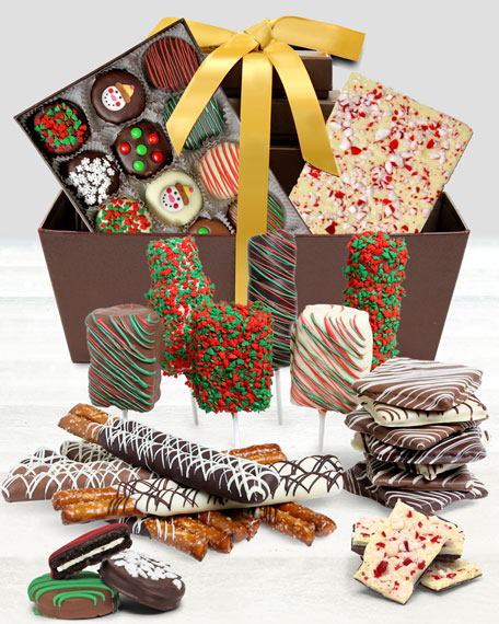 Chocolate Covered Company Ultimate Holiday Gift Basket