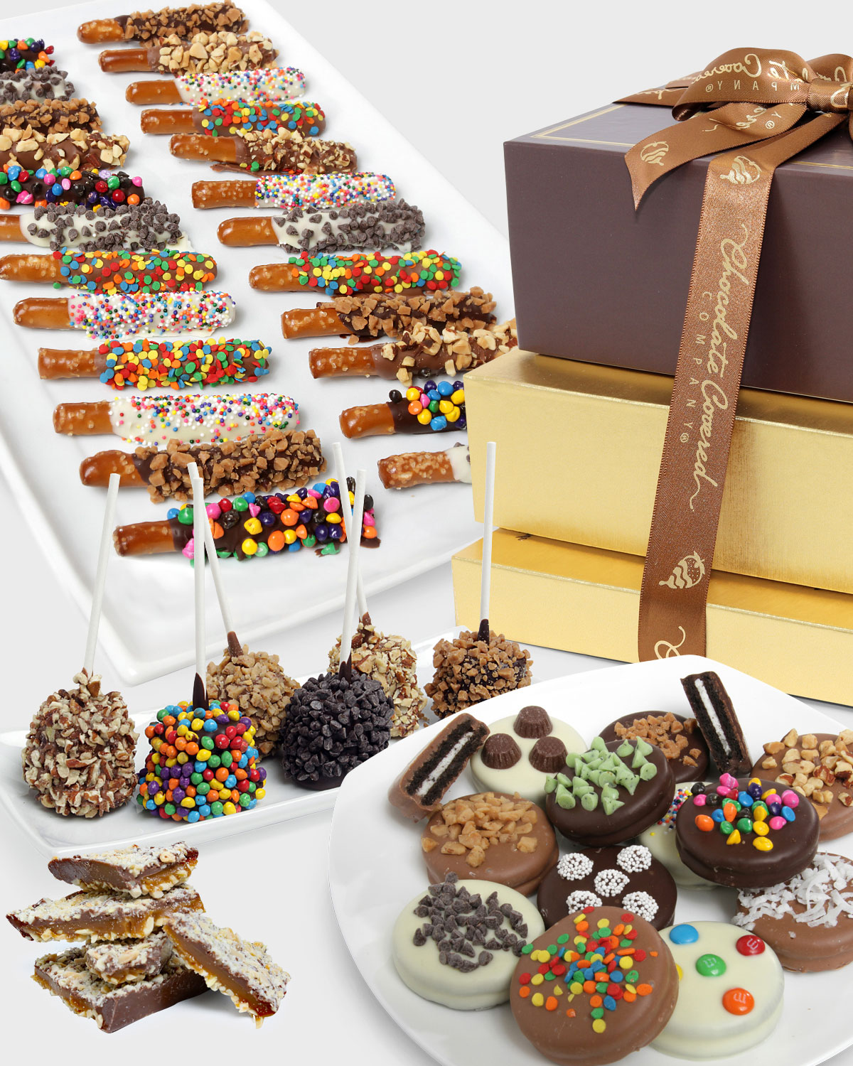 Chocolate Covered Companydeluxe Chocolate Covered Gift Tower