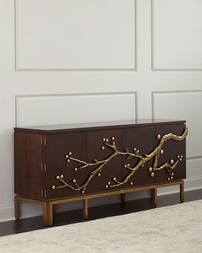 Cherry Blossom Entertainment Console