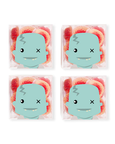 Zombie Brains Halloween Candy Bundle, Set of 4
