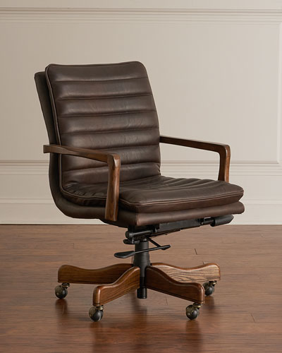 Lawrence Leather Office Chair