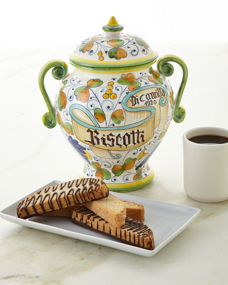 Dicamillo Baking Co Biscotti Nastro Bandiera Jar