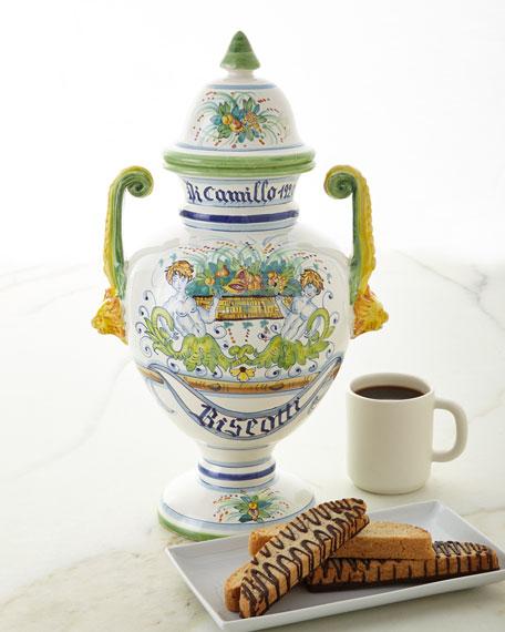 Dicamillo Baking Co Biscotti Farnese Bandiera Jar