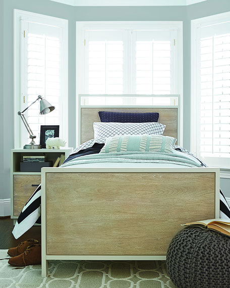 Morgan Panel Twin Bed