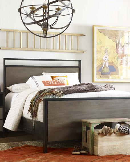 Charli Full Panel Bed