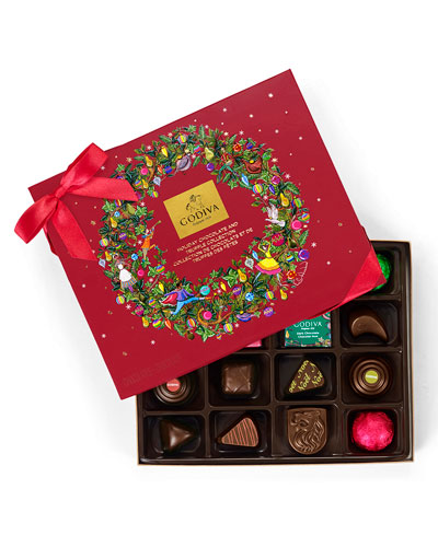 16-Piece Holiday Chocolate Gift Box
