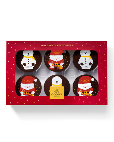 6-Piece Hot Cocoa Toppers
