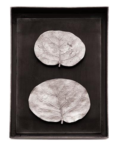 Botanical Leaf Shadow Box