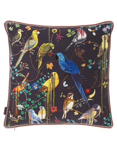 Birds Sinfonia Pillow
