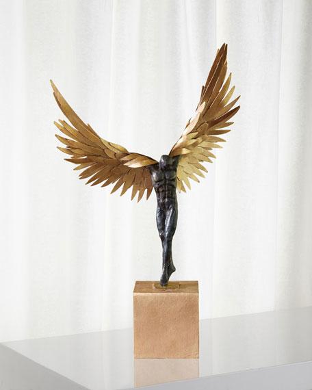 Avian Man Statue